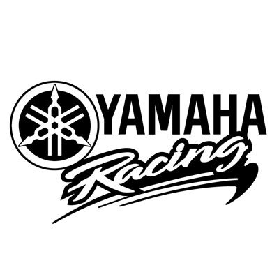 Aufkleber Yamaha Racing by Yamaha Racing Logo Stickers 018 18 X 10 Cm ステッカー