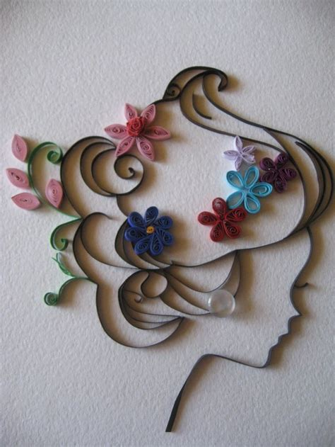 Quilling Girl Tutorial | illustration play 2 viction ary pesquisa google