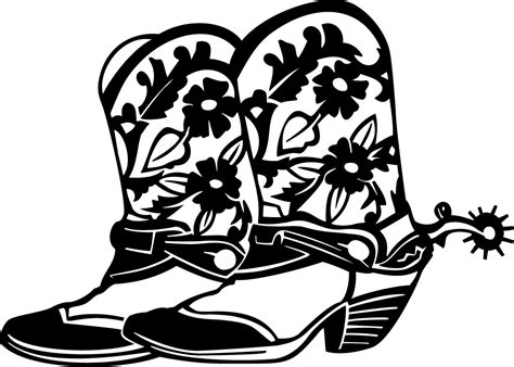 cowboy boot illustrations and clip art 1346 cowboy boot a cowboy christmas boot cowboy boots clip art and cowboys