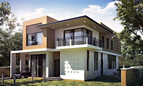 3d models luxury contemporary house realistic modern villa 3d max