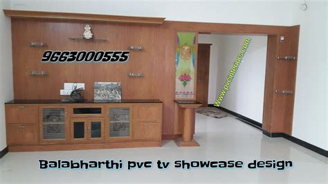 Living Room Designs With Lcd Tv Photos by Pvc Tv Showcase Tv Cabinet Furniture Online Balabharathi