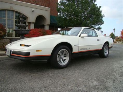 buy car manuals 1988 pontiac firebird parking system buy used 1988 pontiac firebird formula 8000 orig miles showroom condition in orland park