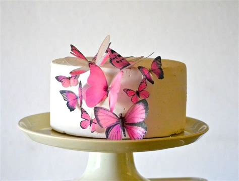 how to make edible cake decorations at home wedding cake topper edible butterflies assorted set of 15