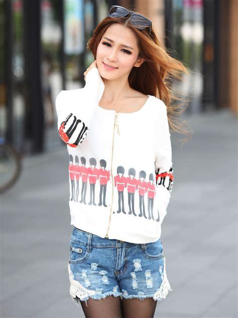 Kpop Zipeer korean zipper soldier cotton hoodies