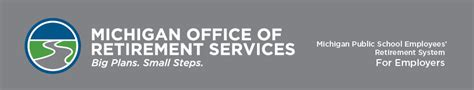 Michigan Office Of Retirement Services by Reporting Retirees