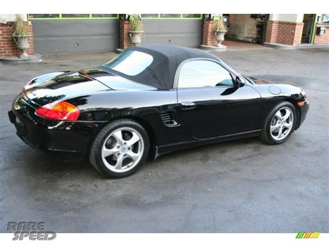 black porsche boxster 2002 2002 porsche boxster in black photo 13 626038