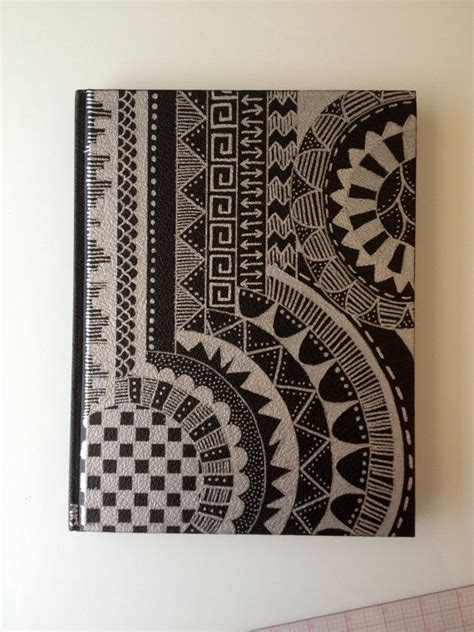 Sketchbook With Original Sharpie Design Cover By