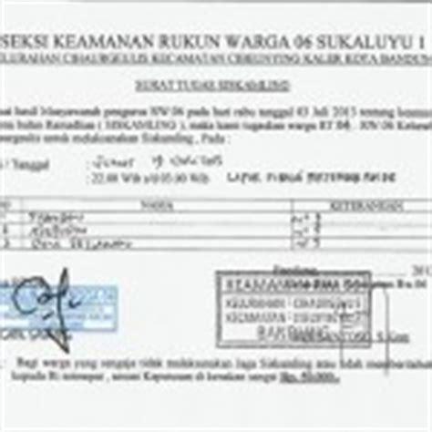contoh surat perintah perjalanan dinas sppd the