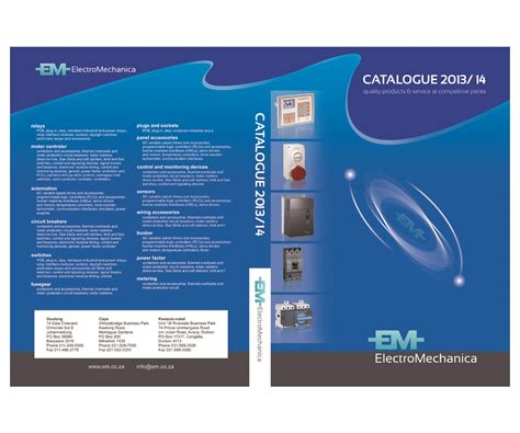 catalog cover google search printing design cover only electrical supply company needs new catalogue