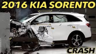 Kia Crash Test Iihs 2016 Kia Sorento Small Overlap Crash Test