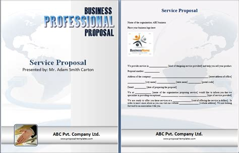 service proposal template anuvrat info