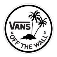 vans design logo vans palm tree brands of the world download vector