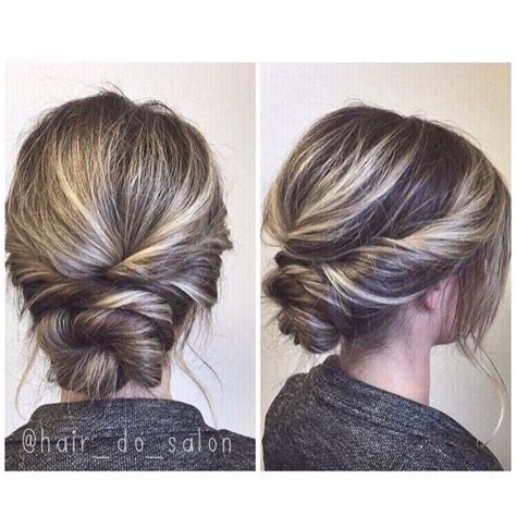 Simple Updo Hairstyles by 25 Best Ideas About Simple Updo On Simple