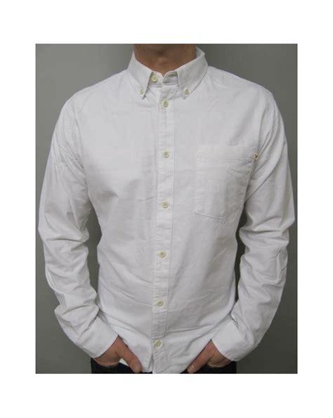Fahara Longsleeve farah connolly sleeve shirt white sleeve cotton mens
