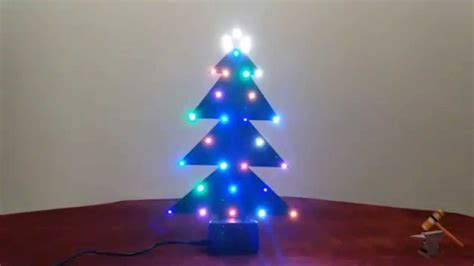 electronic christmas tree youtube