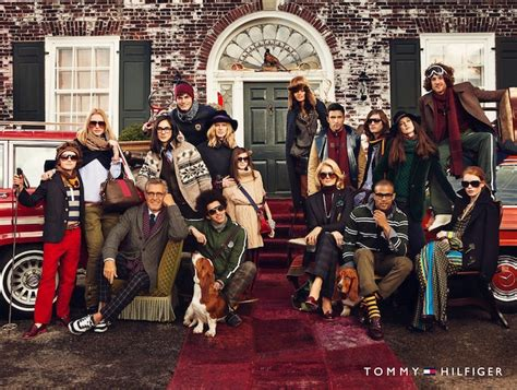 tommy hilfiger ad caign fall campaign home with the hilfigers the styleboston blog