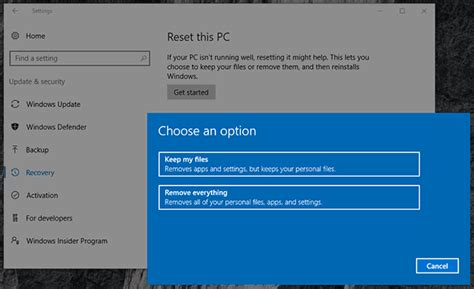 windows keeps resetting clock data recovery after windows 10 8 system restore