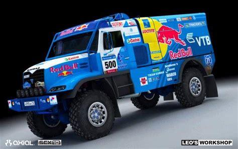 rally truck build axial racing custom build scx10 dakar rally truck by