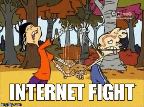 Internet Fight Meme - internet fight ed edd n eddy know your meme