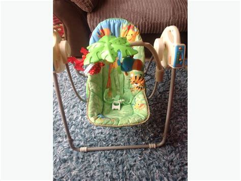 fisher price rainforest open top take along baby swing fisher price rainforest open top take along baby swing