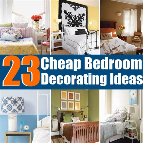 cheap bedroom decorating ideas easy diy bedroom