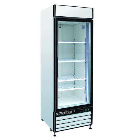 Shop Maxx Cold 12 Cu Ft 1 Door Freezerless Freezerless Commercial Refrigerator With Glass Door