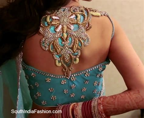 Saree Blouse Back Neck Designs South India Fashion Neck Back Designs For
