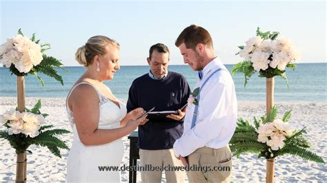 Top 10 Best All Inclusive Destin Wedding Packages   Destin