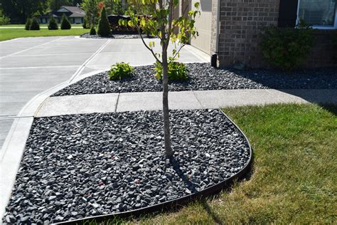 maylen black indianapolis decorative rock mccarty mulch