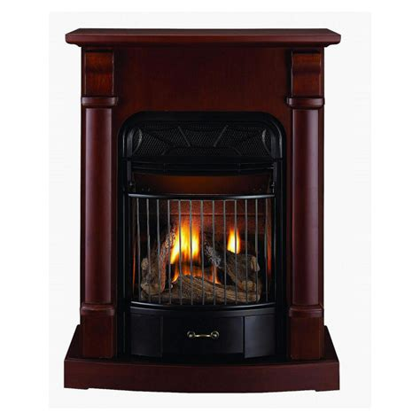 lowes gas fireplace insert enlarged image