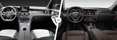 Bmw Vs Mercedes Interior by Mercedes Glc Vs Bmw X3 Suv Comparison Carwow