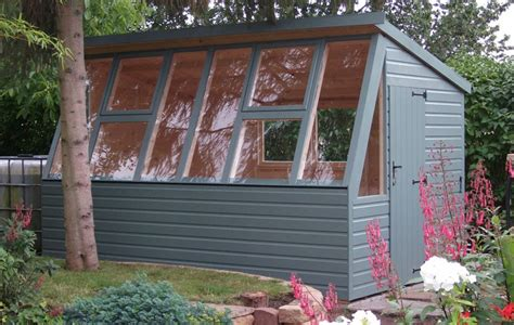 painted potting shed sheds ltd