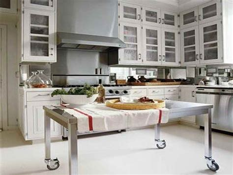 stainless steel island for kitchen stainless steel kitchen island photo 5 kitchen ideas