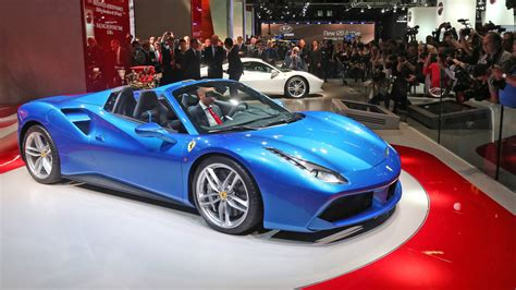 What Is Faster A Or A Lamborghini 488 Spider Debuts In Frankfurt Is Faster Than
