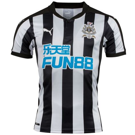 Obral Jersey Newcastle Home newcastle united home soccer jersey 17 18 this newcastle united home football shirt 2017 2018