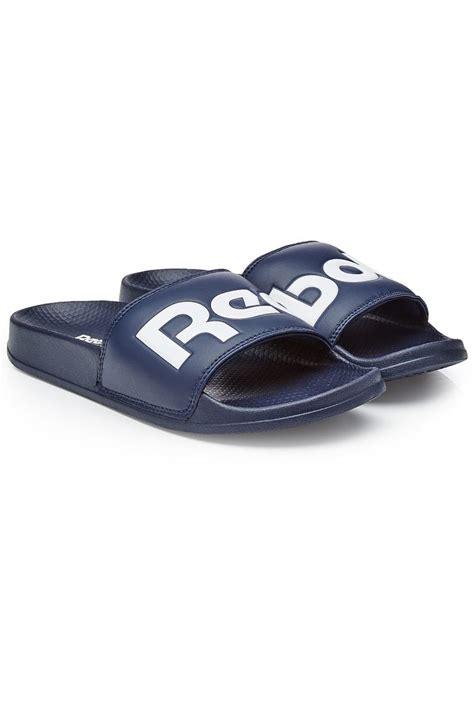 reebok mens slippers sandals slippers reebok rubber slides color blue