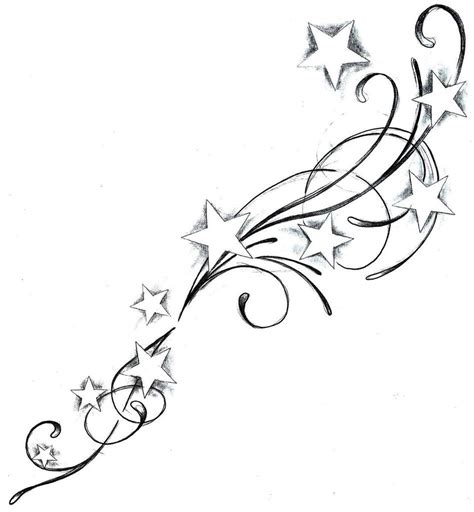 stars and swirls tattoo designs graphics pictures images for myspace layouts