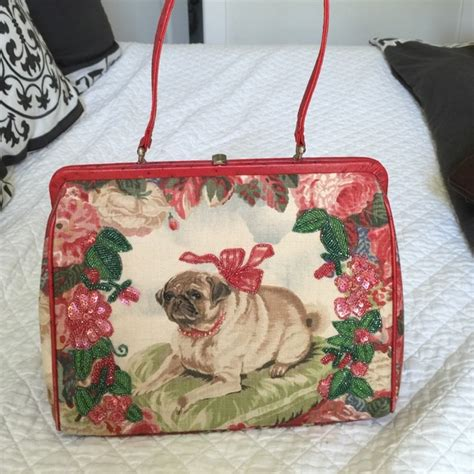 pug handbags 78 fiore handbags fiore pug handbag from agv s closet on poshmark