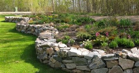 Raised Rock Garden Northern Exposure Gardening Raised Rock Garden Beds