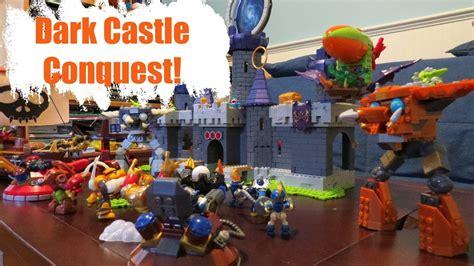 Kaos Lego 17 mega bloks skylanders giants castle conquest review