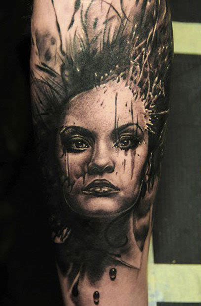 tattoo portrait pictures full sleeve portrait tattoo by andy engel design of