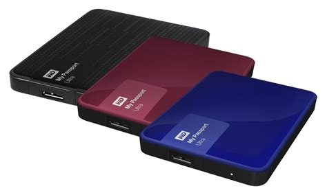 Wd New My Passport Ultra External Hardisk Hardrive 2tb Biru western digital external drives manufacturer refurbished groupon
