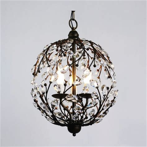 Contemporary Funky Pendant Light With Crystal Leaves Funky Pendant Light