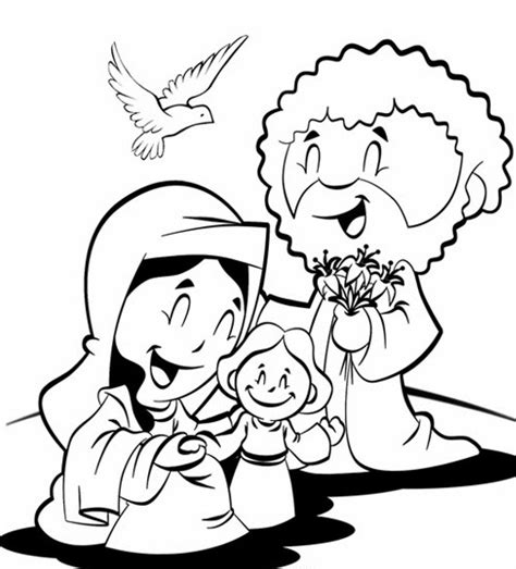 printable coloring pages holy family holy family printable free coloring pages on