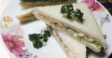 resep tuna suwir  isian sandwich enak