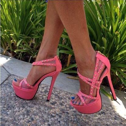 Heels Fashion Import 145 fashion pink lace heels summertime sandals shoes pink sandals and