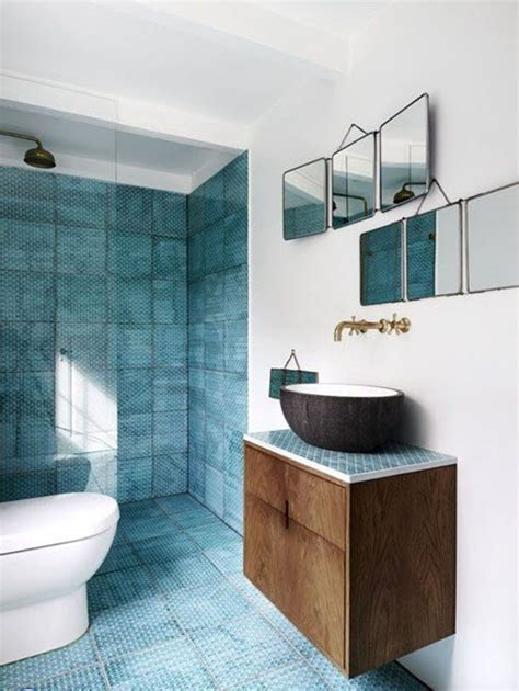Blue Tiled Bathroom Pictures by 40 Blue Shower Tile Ideas And Pictures
