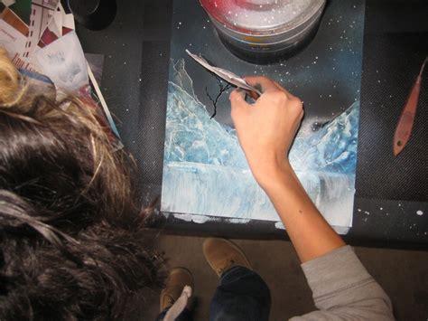spray paint classes spray paint