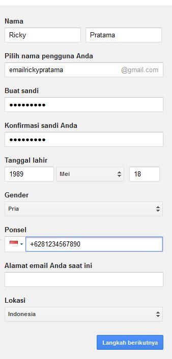 membuat email google gratis cara membuat email di gmail google gratis