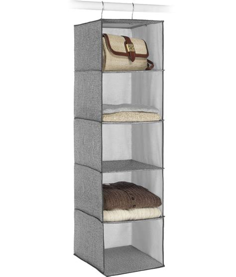 hanging accessory shelves in hanging closet shelves